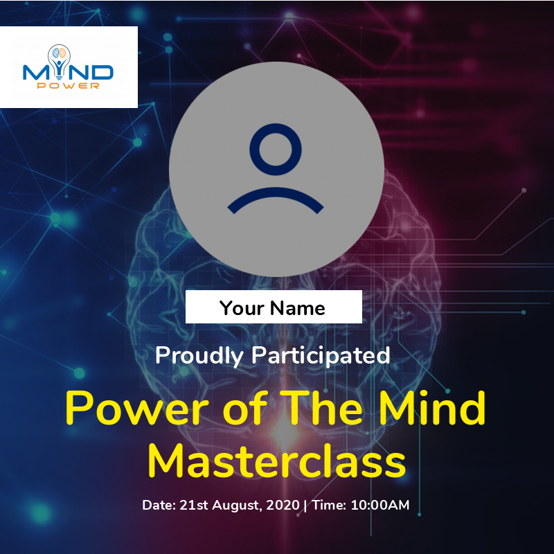 Power of the Mind Masterclass
