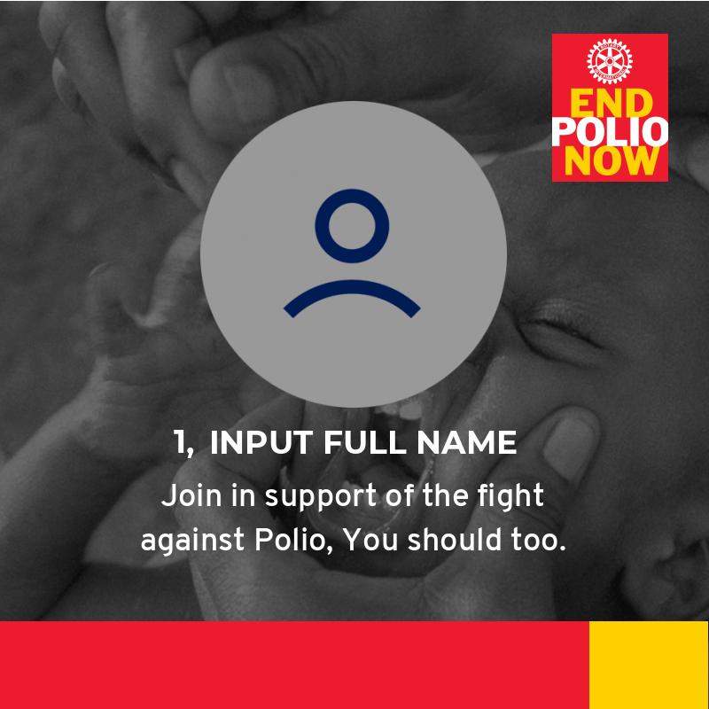 Fight against Polio