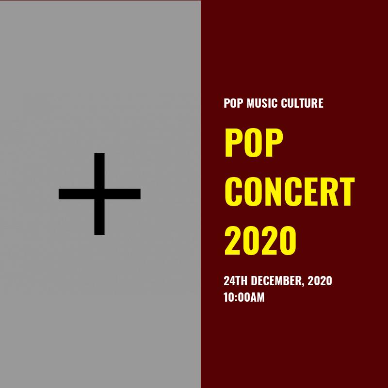 Pop Concert 2020